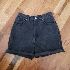 Gap Vintage High Waist Denim Shorts, Sz 9/10